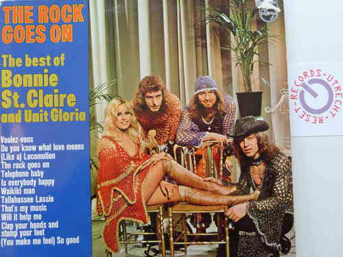 Bonnie St.Claire and Unit Gloria - The Rock goes on