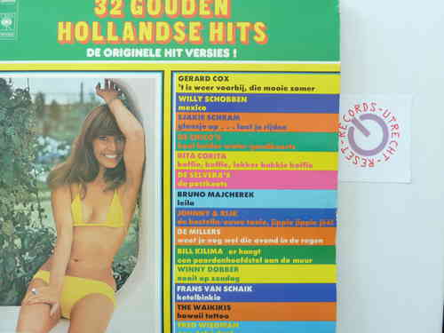 Various Artists - 32 Gouden Hollandse Hits
