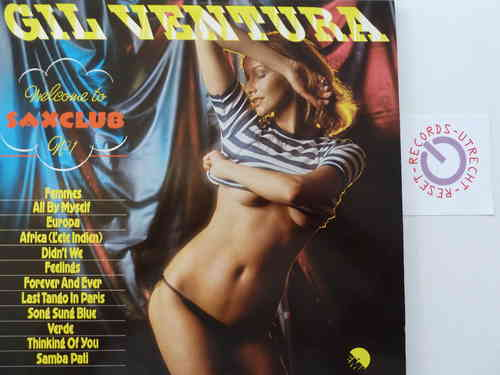 Gill Ventura - Welcome to Saxclub No. 1