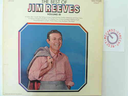 Jim Reeves - The Best of Jim Reeves Vol. 3