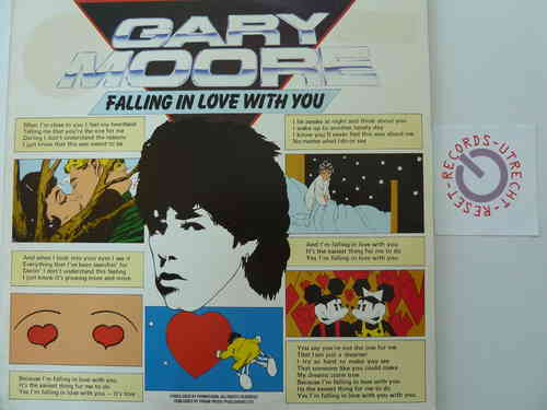 Gary Moore - Falling in love with you / Wishing well