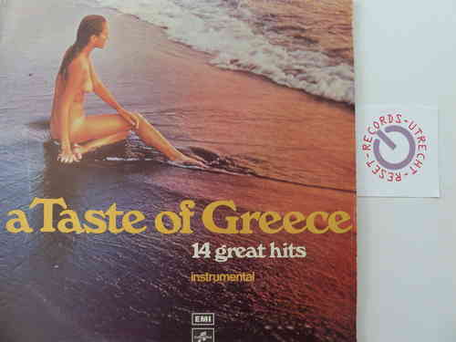 Various artists - A taste of Greece - 14 Great Hits Instrumental