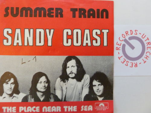 Sandy Coast - Summer train / The place near the sea