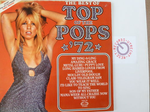 Various artists - The best of Top of the Pops '72