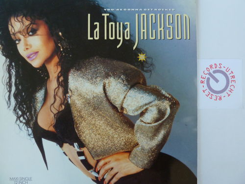 La Toya Jackson - You're gonna get it / Does it really matter / Rocked