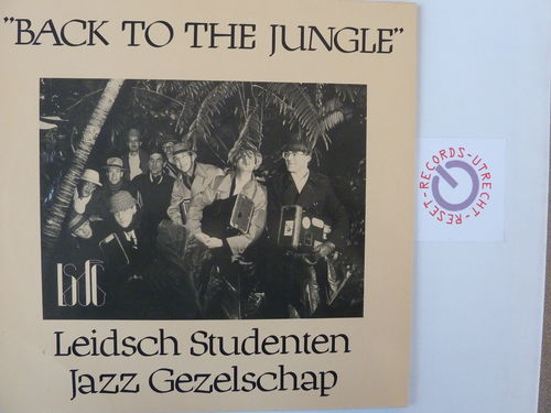 Leidsch Studenten Jazz Gezelschap - Back to the jungle