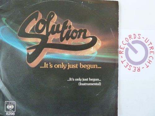 Solution - It's only just begun / It's only just begun (instrumental)