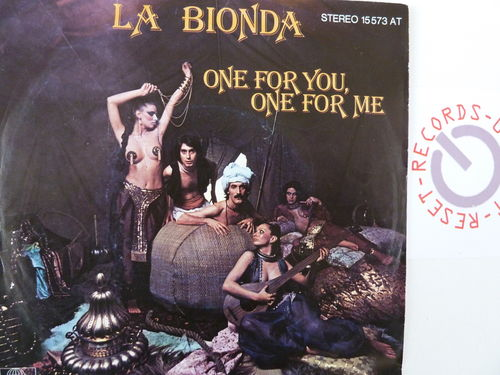 La Bionda - One for You one for Me / There for Me
