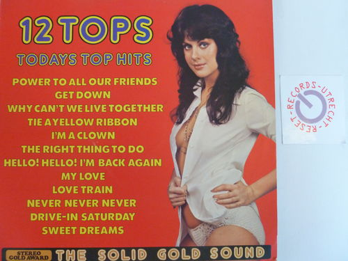 Various artists - 12 Tops Today Top Hits Vol. 10