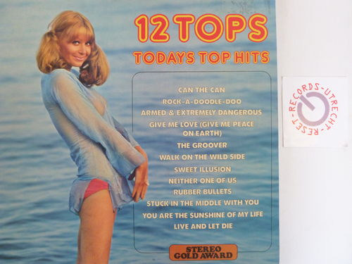 Various artists - 12 Tops Today Top Hits Vol. 12