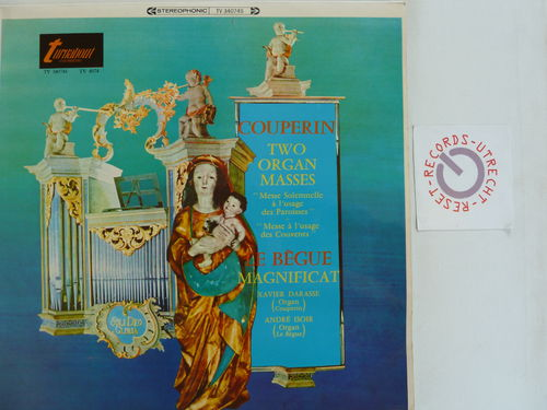 Xavier Darasse/Andre Isoir - Couperin Two Organ Masses Le Begue Magnificat
