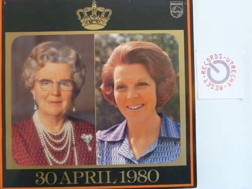 30 april 1980 (klankreportage abdicatie Koningin Juliana en inhuldiging Koningin Beatrix
