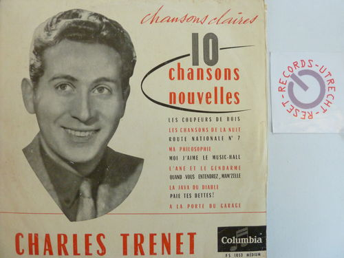 Charles Trenet - 10 Chansons Nouvelles