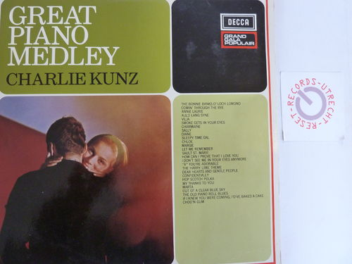 Charlie Kunz - Great Piano  Medley