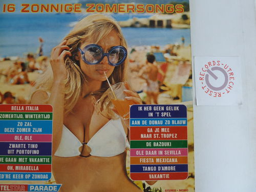 Various artists - 16 zonnige zomersongs