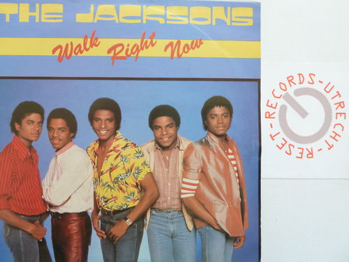 Jacksons - Walk Right Now / Your Ways