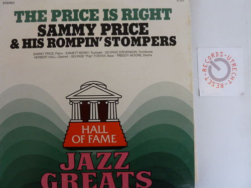Sammy Price and his Rompin' Stompers - The Price is Right