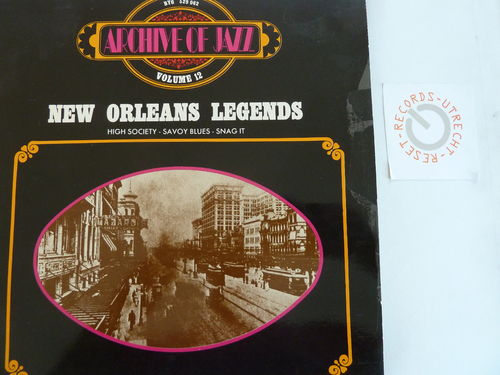 Various artists - New Orleans Legens (Archive of Jazz Vol. 12)
