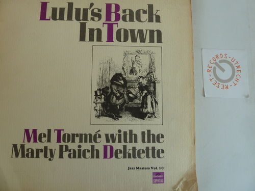 Mel Torme with the Marty Paich Dektette - Lulu's Back In Town